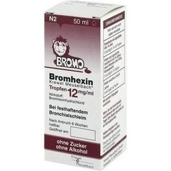 BROMHEXIN K M TRF 12MG/ML