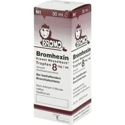 BROMHEXIN K M TRF 8MG/ML